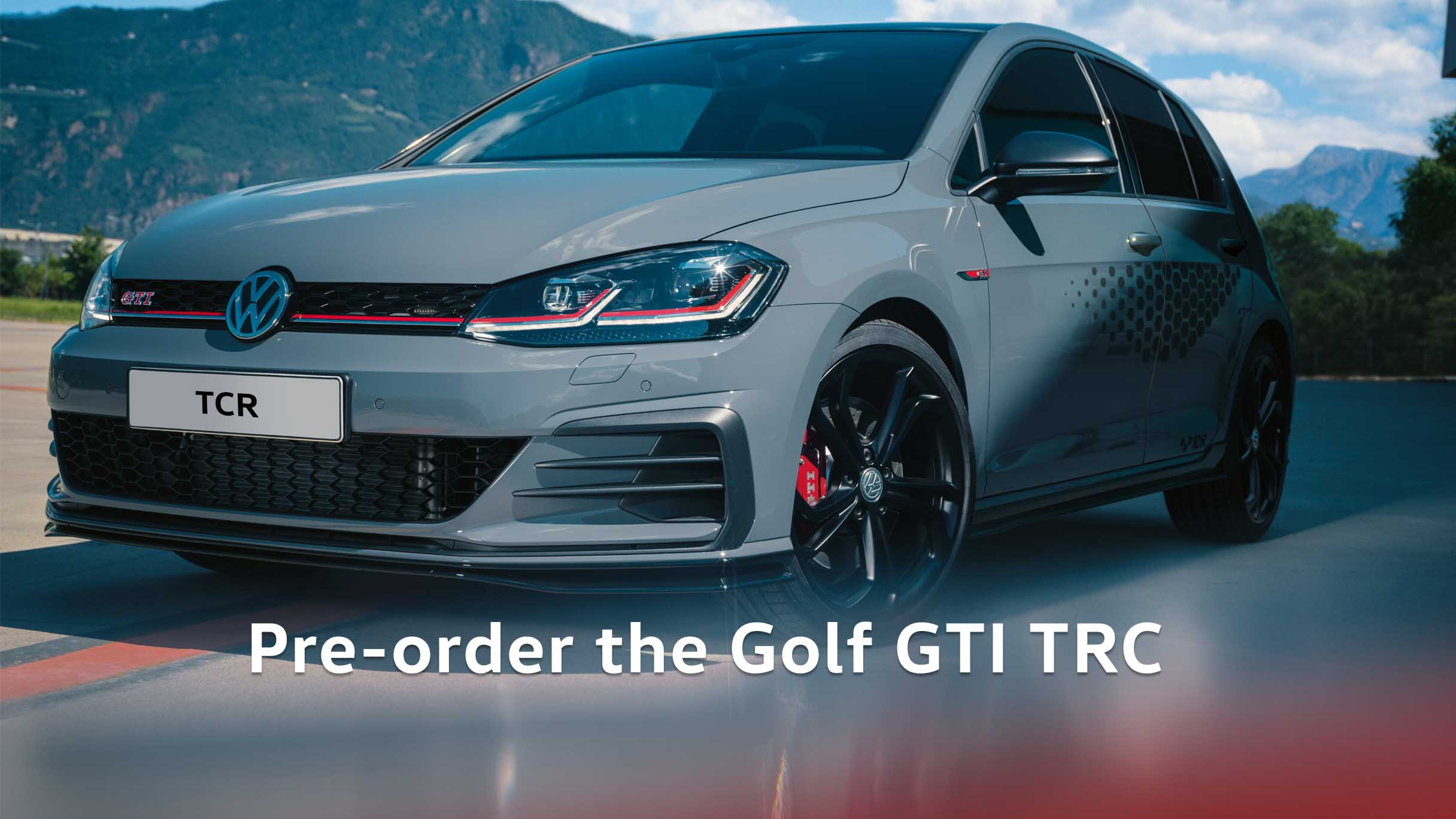 Golf GTI TCR at Barons Woodmead