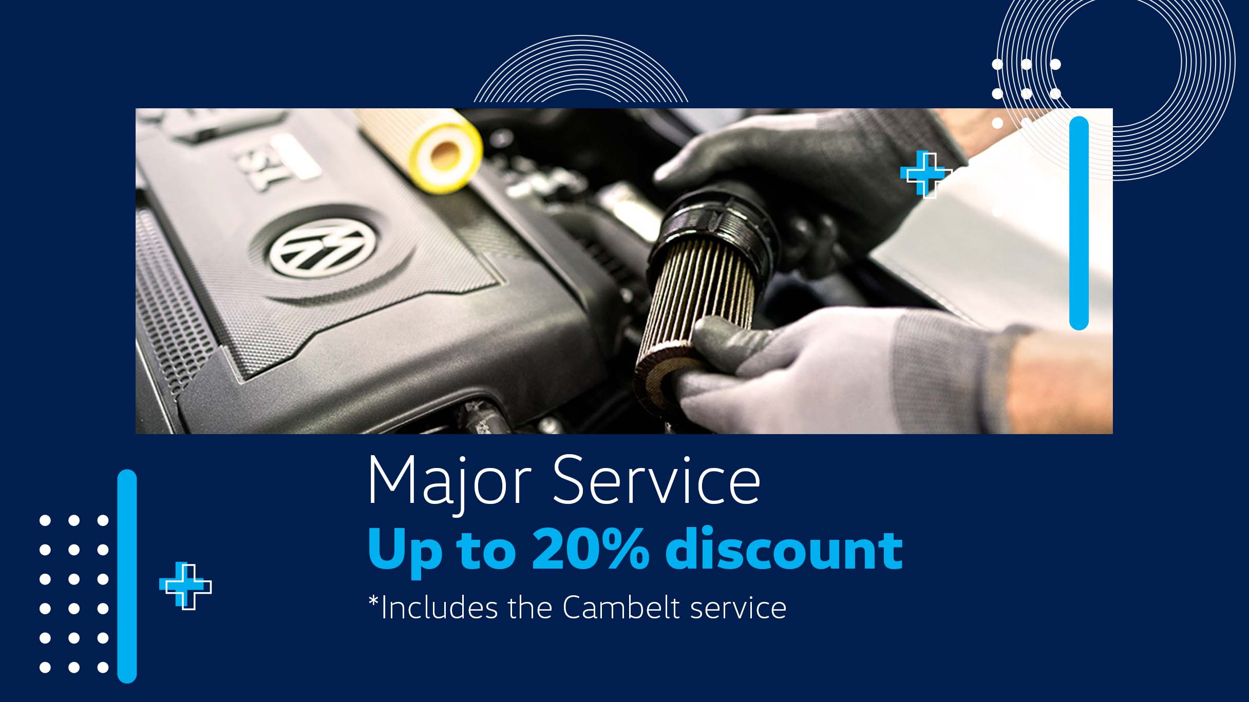 Barons Woodmead Major Service special offer
