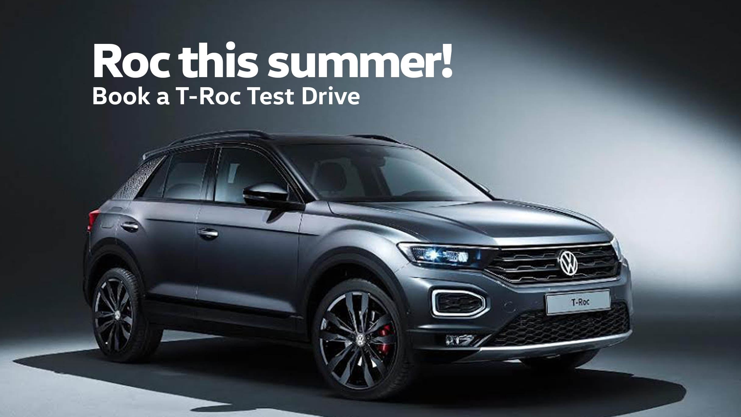 Test drive T-Roc SUV the Barons Woodmead