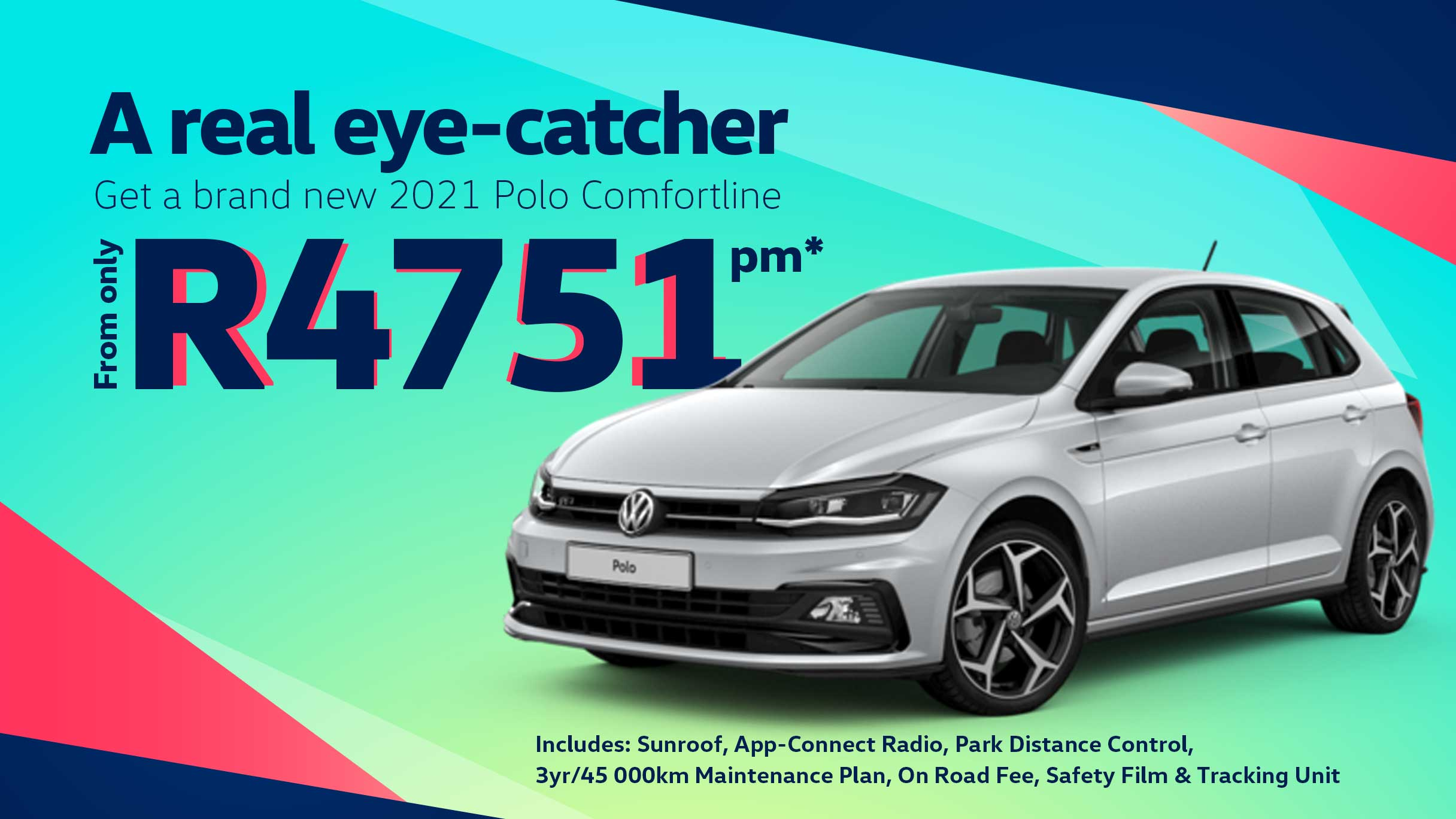 Barons Woodmead New 2021 Polo Comfortline offer