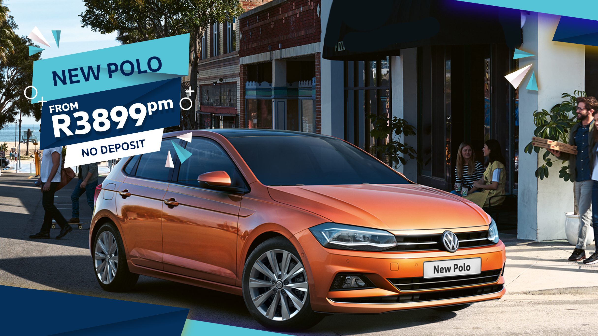 VW Polo offer at Barons Woodmead